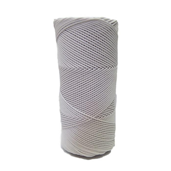 Cord�o encerado fino branco (0001)- CDF029 ATACADO