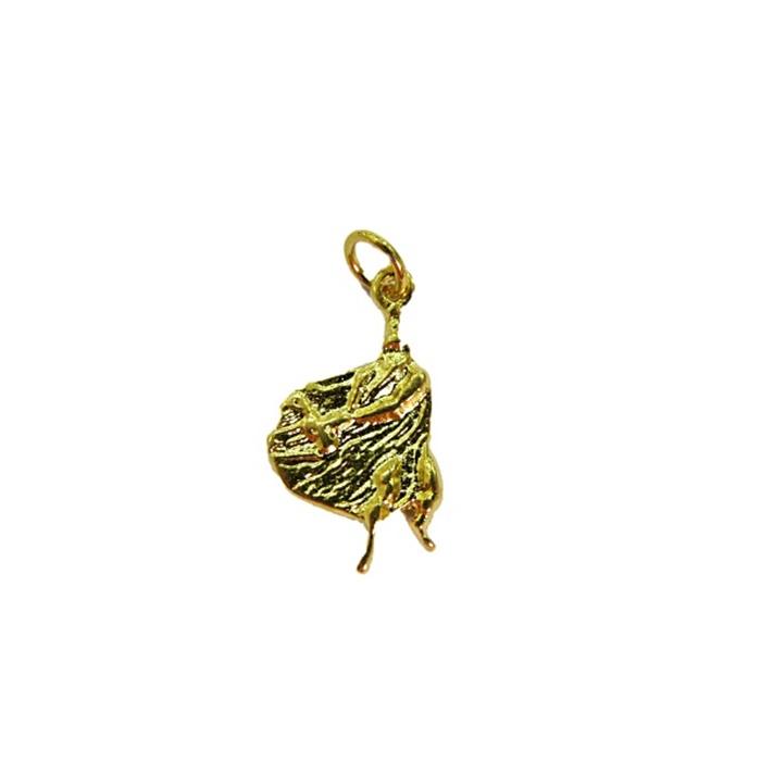 Pingente Obalua� dourado (orix�)- POD002