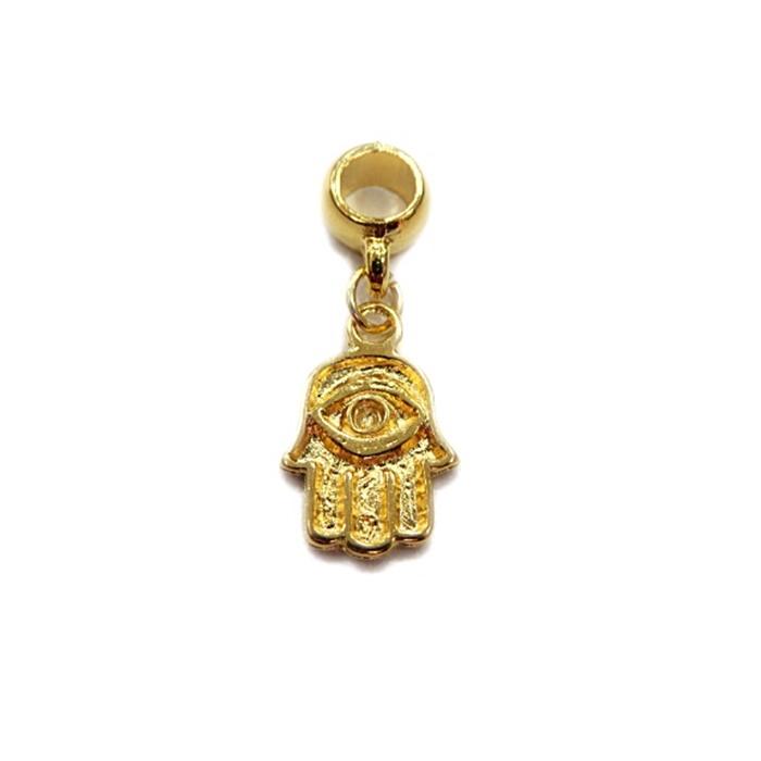 Berloque Dourado Mao BED046