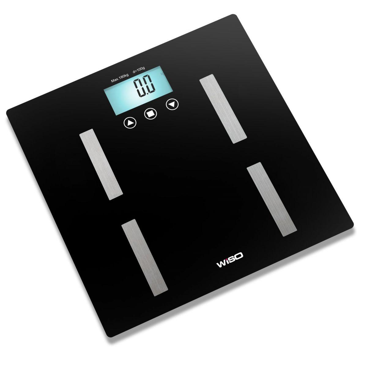 em Promoção só hoje na Iniciativa Fitness Equipamentos para  #358F96 1200x1200 Balança Digital Banheiro Avaliação
