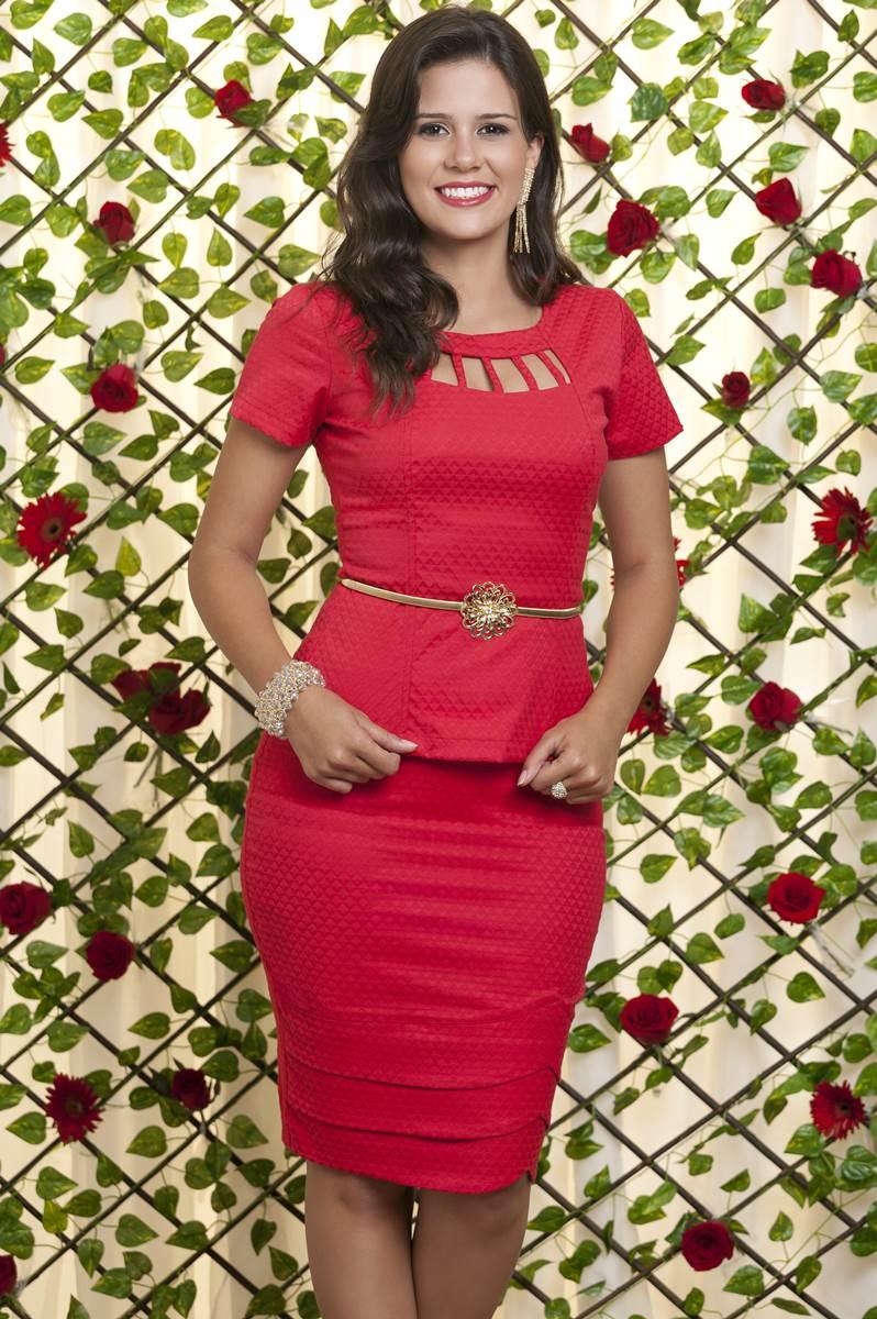 Conjunto Bella Heran�a Rosa Fina 6217