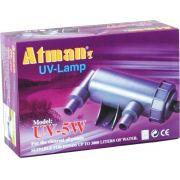 Filtro Uv 5w Atman Ultra Violeta Para Aqu�rios E Lagos 220v.