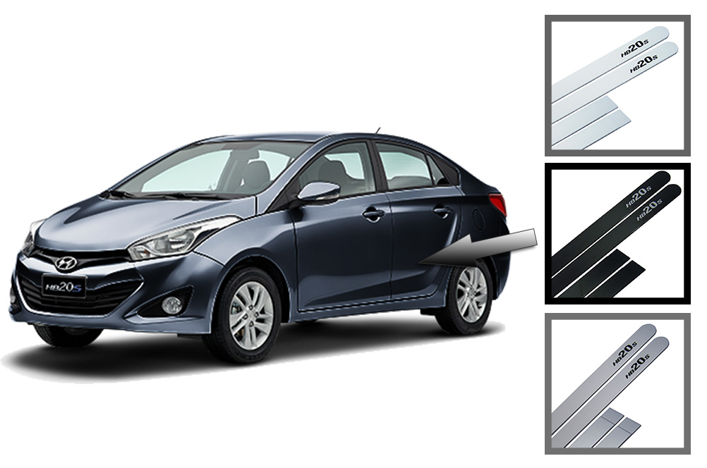 Friso Lateral Hyundai HB20S Personalizado