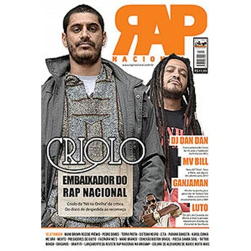 Rap Nacional #7 - Capa: Criolo.