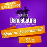 Somente baile at�  30/08 45,00, at�  06/09 55,00, no dia 65,00