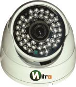 Camera Hdcvi Hd 1mp 720p 48 leds 3,6mm IR Cut 50mt 1280x720 Aluminio Ip66