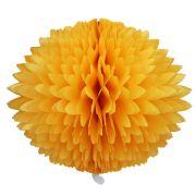 BOLA POM POM 580mm (58cm) Amarelo Ouro