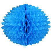 BOLA POM POM 580mm (58cm) Azul Turquesa