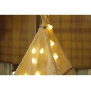 Luzes m�dias cor amarela (20 LED) 110V - 21F