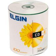 CD-R Grav�vel Elgin 700MB/80min Pino Com 100 Unidades
