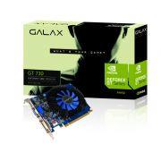 Placa de v�deo NVidia Geforce GT 730 2GB 128-Bit 1330MHz GDDR3 Galax 73GPF8HX3SNS - 96CUDAs