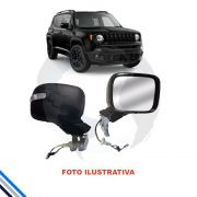 Retrovisor Externo Direito Jeep Renegade 2014-2016 - Original/Jeep