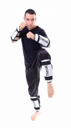 Protetor de Canela - Taekwondo - Liso - Toriuk