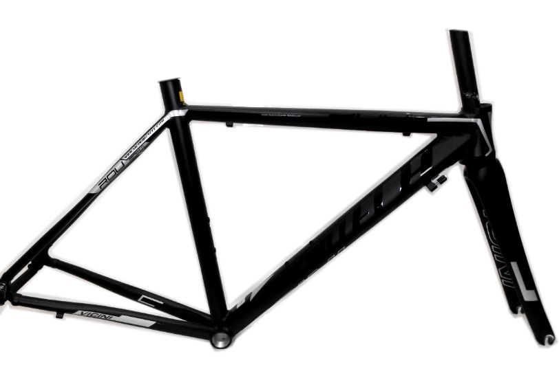 Quadro speed Vicinitech Roubaix II 54 x 57.5 prt fosco/prata