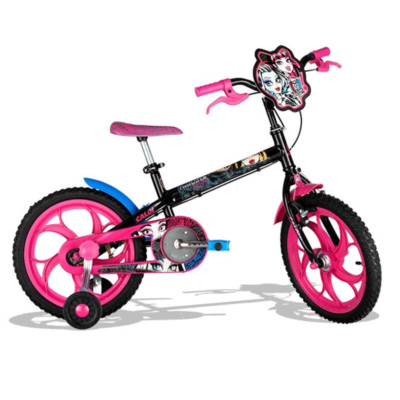 Bicicleta Caloi Monster High Aro 16