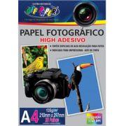 Papel Fotogr�fico High Adesivo c/20 folhas 135g