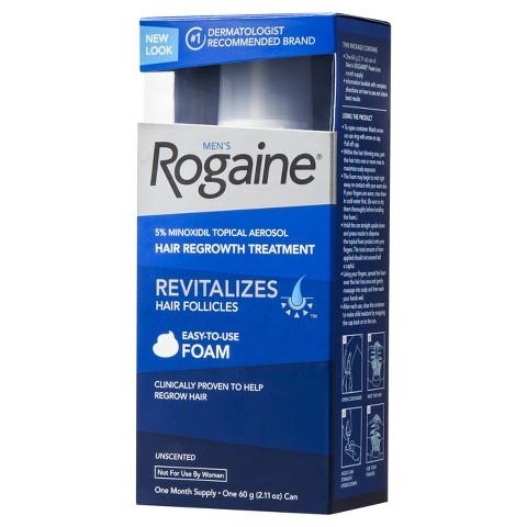 Rogaine Foam 5% - Minoxidil em Espuma 5% - 1 Unidade (Tratamento para 1 M�s)