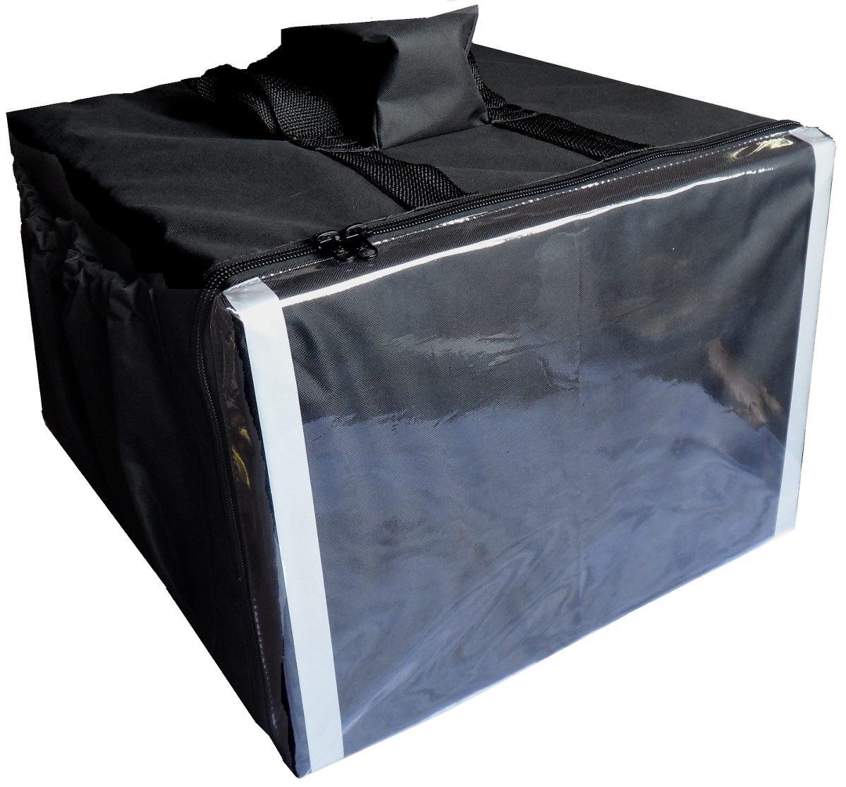 Bolsa Mochila T�rmica de Pizza Refrigerante Para Entrega Motoboy Com ou Sem Caixa T�rmica 35cm 40cm 44cm 50cm 53cm  - GuerreiroOnline