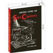Antigo livro de S�o Cipriano, o Gigante e verdadeiro Capa de A�o