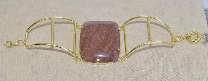 bracelete de jaspe natural