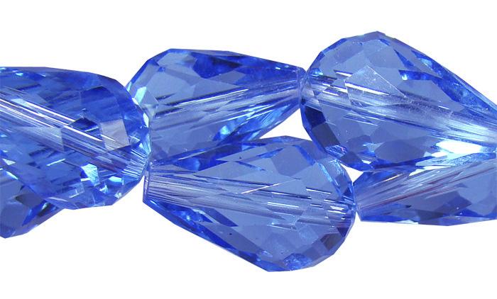 gota cristal azul bic