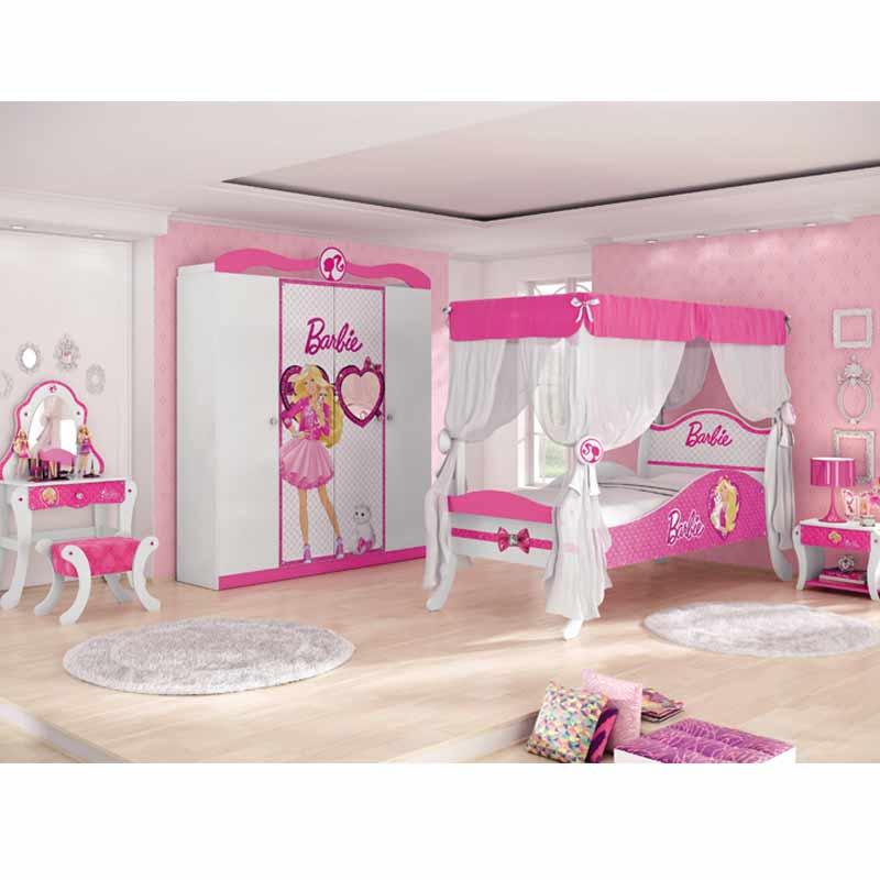 Quarto infantil Barbie Premium - Pura Magia