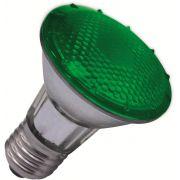 L�mpada Par 20 Verde - Hal�gena Pot�ncia 50W