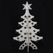 Arvore de Natal Vitrine Elegance - PVC Mar�timo - 1,17m x 75cm