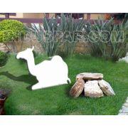 Camelo para Pres�pio Linha Branco Elegance - PVC Mar�timo - 0,78m x 0,98m