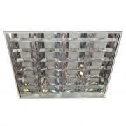 Lumin�ria Comercial de Embutir - REF 100 para 4 L�mpadas 16W/18W/20W