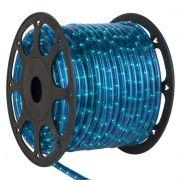 Mangueira Luminosa Azul Incandescente - 100 Metros 127V