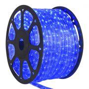 Mangueira Luminosa Azul LED - 100 Metros 127V - Corda de Natal