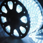 Mangueira Luminosa Branca LED - 100 Metros 220V - Corda de Natal
