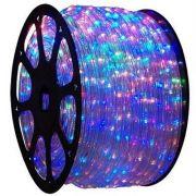 Mangueira Luminosa Colorida LED - 100 Metros 220V - Corda de Natal
