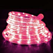 Mangueira Luminosa Rosa LED - 10 Metros 220V - Corda de Natal