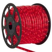 Mangueira Luminosa Vermelha Incandescente - 100 Metros 220V