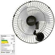 Ventilador de Parede 60 Cm Bivolt Premium Preto - Venti-Delta