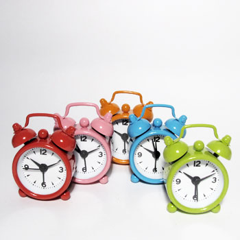 Despertador Mini Relógio Vintage - Frete Grátis