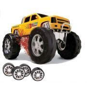 Caminhonete ou Big Foot Amarela 2 em 1 Double Car Power Road Diver Toys 062