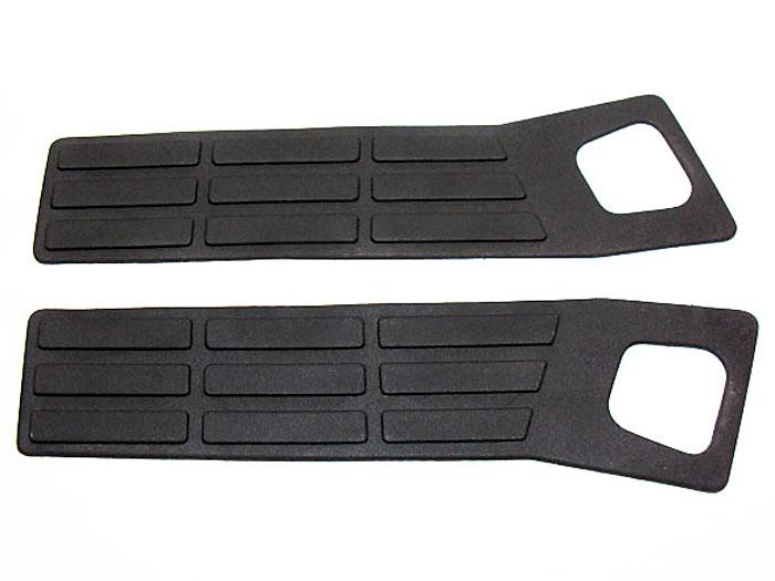 Pisante lateral do para choque traseiro p / S10 até 2000