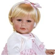 Boneca Adora Baby Doll 20� Rosebud Romper (Light Blond Hair/Blue Eyes)