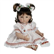 Boneca Adora Baby Doll, 20 inch �Strawberry Fields� Brown Hair/Green Eyes