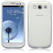 FlexiShield Plus - Capa de TPU Premium + Pel�cula Protetora para Samsung Galaxy S III S3 i9300 - Cor Transparente
