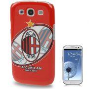 Capa Personalizada s�rie Time AC Milan para Samsung Galaxy S3 S III i9300