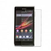 Kit com 2 Pel�culas transparente lisa protetor de tela para Sony Xperia L