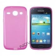 Kit Capa de TPU Premium + Pel�cula Pro Fosca para Samsung Galaxy S3 Duos I8262 - Cor Rosa