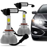 Kit L�mpada Super Led Headlight HB4 9006 6000K 12V e 24V Efeito Xenon