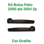 Bolsa de Porta Palio 2000 at� 2004 2portas Cor Grafite (c/kit fixa��o) - KIT