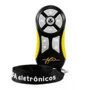 Controle remoto JFA TX Universal Amarelo + Cord�o � Somente Controle