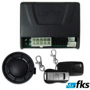 Alarme Automotivo FKS FK500 VW G5 G6 Gol, Voyage, Saveiro, Fox Up com travamento